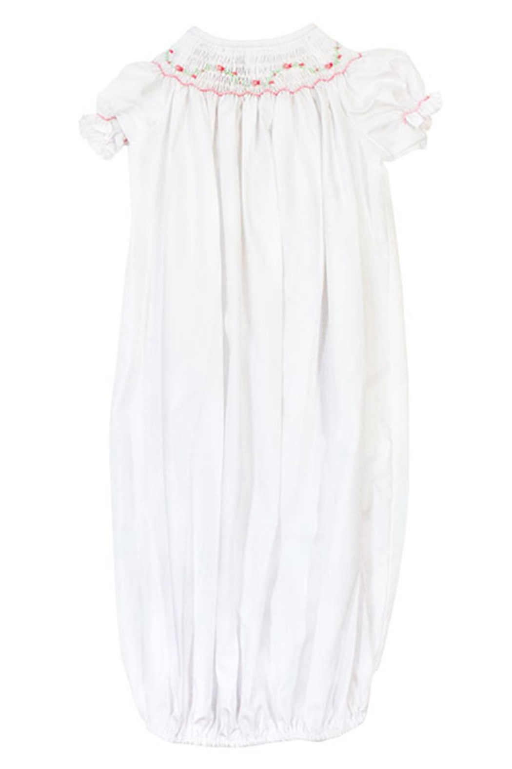 Bailey Boys Pink Vine Sack-Gown - Front Full Image