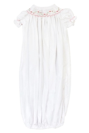 Bailey Boys Pink Vine Sack-Gown - Front full body