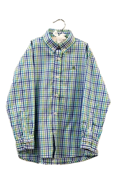 Bailey Boys Pinwheel Plaid Shirt - Alternate List Image