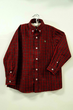 Bailey Boys Red-Tartan Plaid Shirt - Product List Image