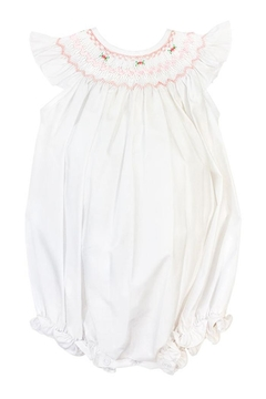Bailey Boys Ribbon & Roses Bishop/romper - Alternate List Image