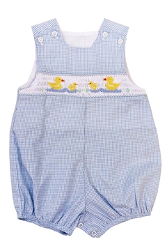 Bailey Boys Smocked Ducks Bubble - Product List Image