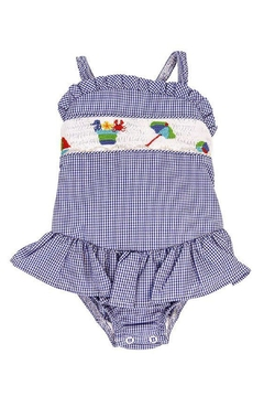 Bailey Boys Smocked Sun-n-Fun Swimsuit - Product List Image