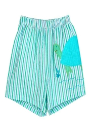 Bailey Boys Tilly Turtle Swim-Trunk - Product Mini Image