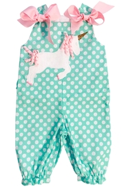 Bailey Boys Unicorn Long Bubble - Front cropped