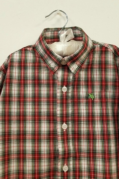 Bailey Boys Whisper-Tartan Plaid Shirt - Alternate List Image