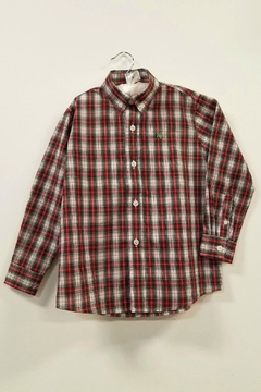 Bailey Boys Whisper-Tartan Plaid Shirt - Product List Image