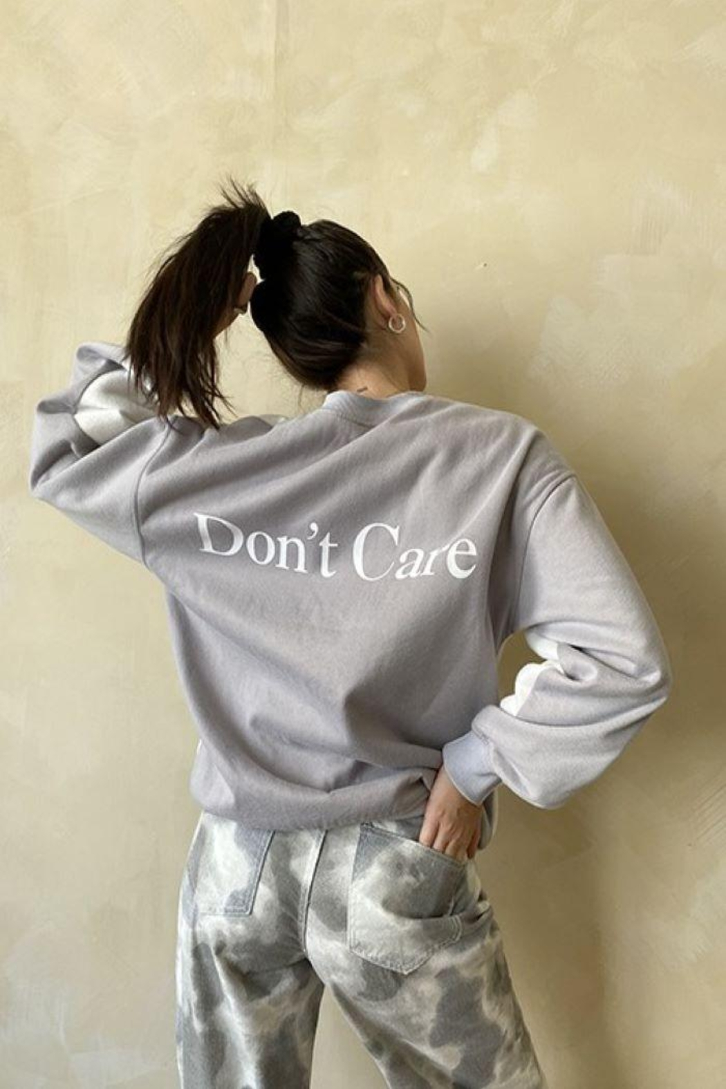 Bailey Rose Don't Know Don't Care Pullover - Side Cropped Image