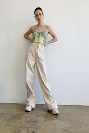 Bailey Rose High Rise Wide Long Pants - Product Mini Image