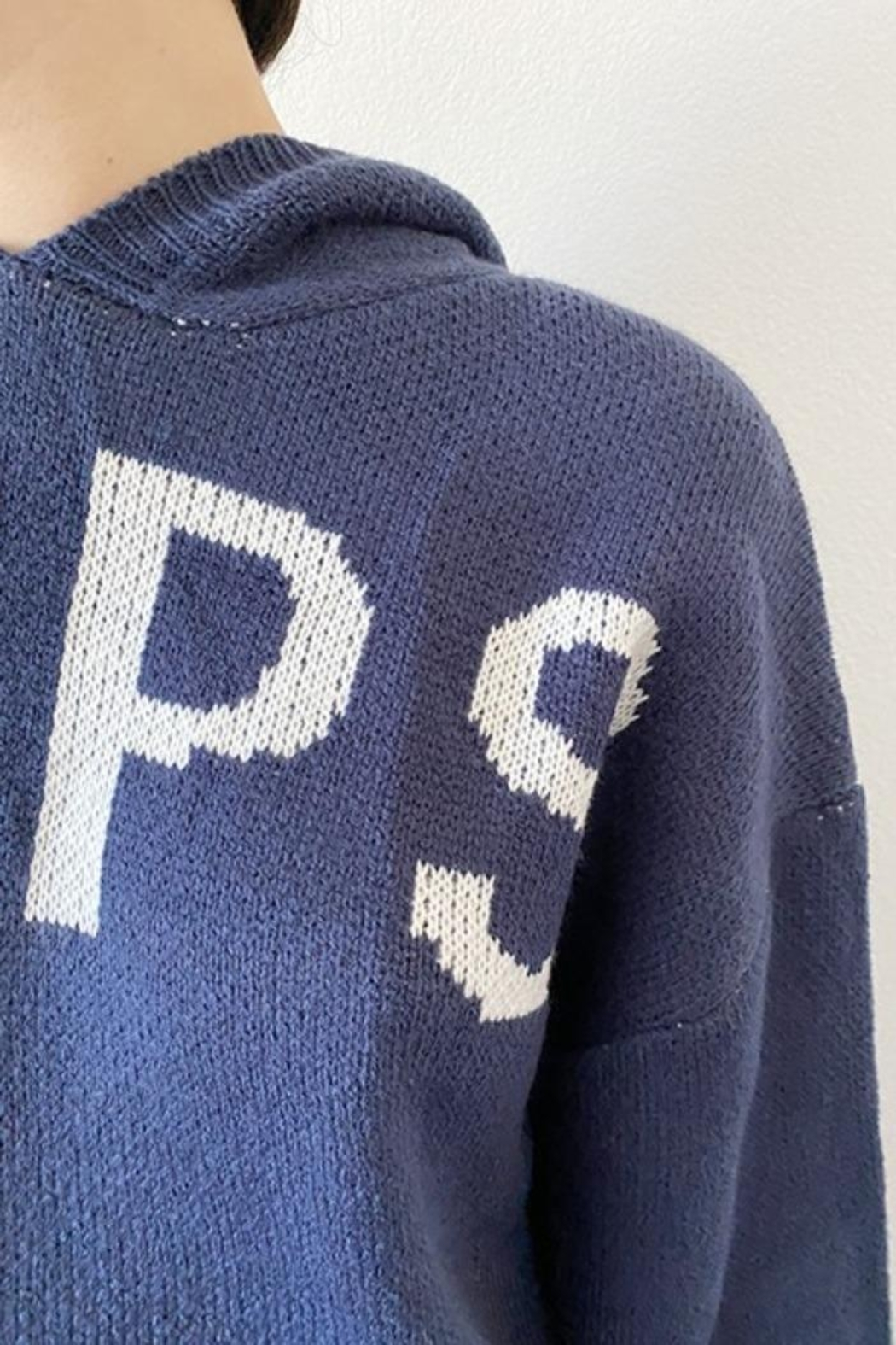 Bailey Rose Naps Hoodie Sweater - Side Cropped Image