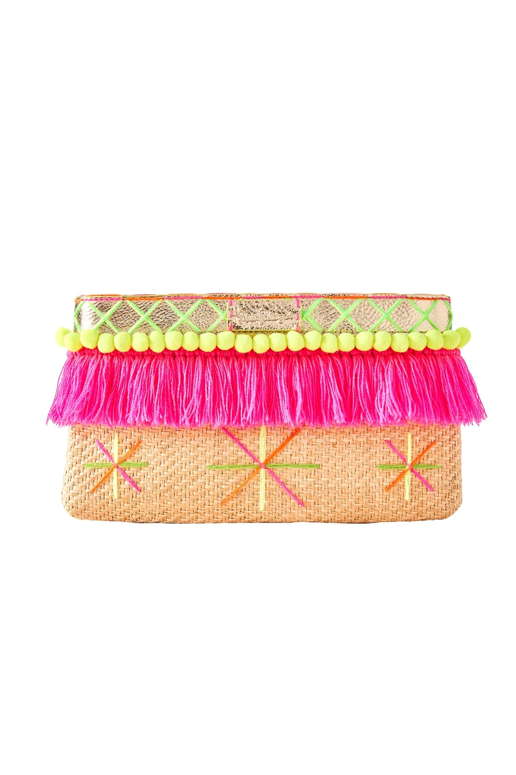 Lilly Pulitzer Baja Clutch - Main Image
