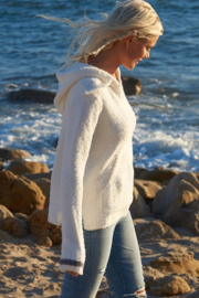 Barefoot Dreams BAJA HOODIE-2 COLORS AVAILABLE - Product Mini Image