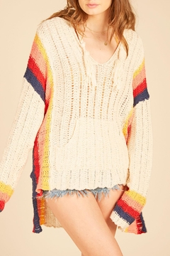 Shoptiques Product: Baja Retro-Stripe Sweater