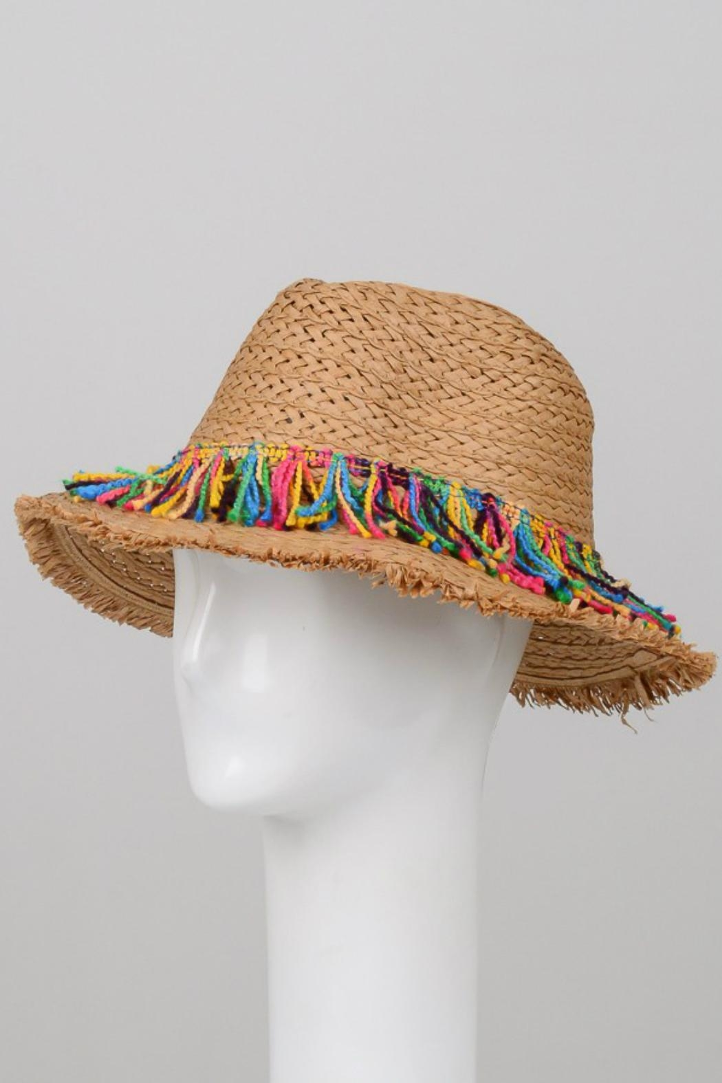 Minx Baja Straw Hat - Front Cropped Image