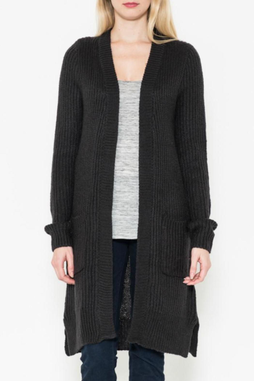 1ceb377e6bb48 Bajee Collection by Be Cool Long Black Cardigan from North Dakota by ...