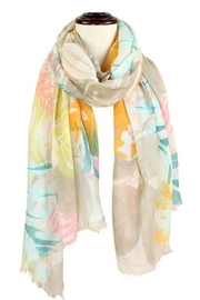 Baked Beads Watercolor Flower Scarf - Product Mini Image