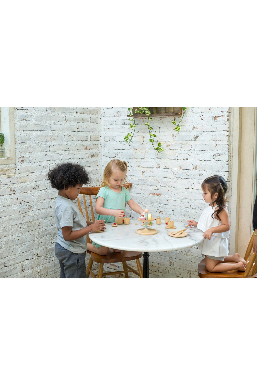 Plan Toys Bakery Stand Set - Front Full Image