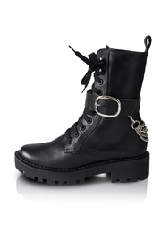Bala Di Gala Combat Boot Black - Product Mini Image