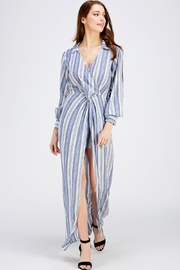 Balance Shirt Maxi Dress - Product Mini Image