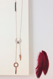 Balangandãs Boho Chic Necklace - Front cropped