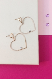 Balangandãs Dangle Heart Earrings - Product Mini Image