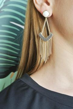 Balangandãs Fringe Earrings - Alternate List Image
