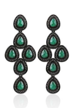 Balangandãs Green Agate Earrings - Product List Image