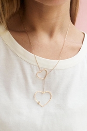 Balangandãs Heart Necklace - Front full body