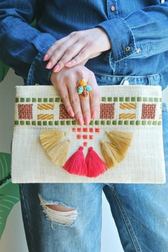 Balangandãs Colorful Tassel Clutch - Product List Image