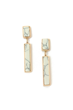 Balangandãs Marble Dangle Earrings - Product List Image