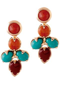 Shoptiques Product: Ethnic Statement Earrings