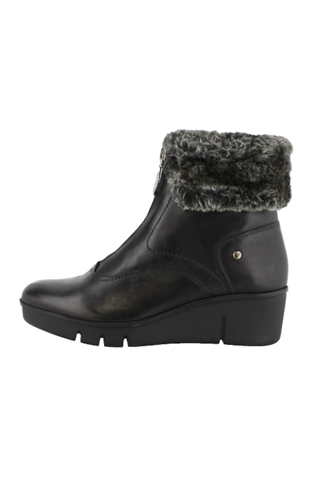 Pikolinos Balerma Faux-Fur Bootie - Front Cropped Image