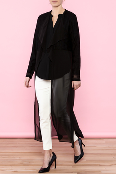 Shoptiques Product: Black Sheer Cover-Up