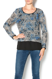 Bali Blue Overlay Top - Product Mini Image