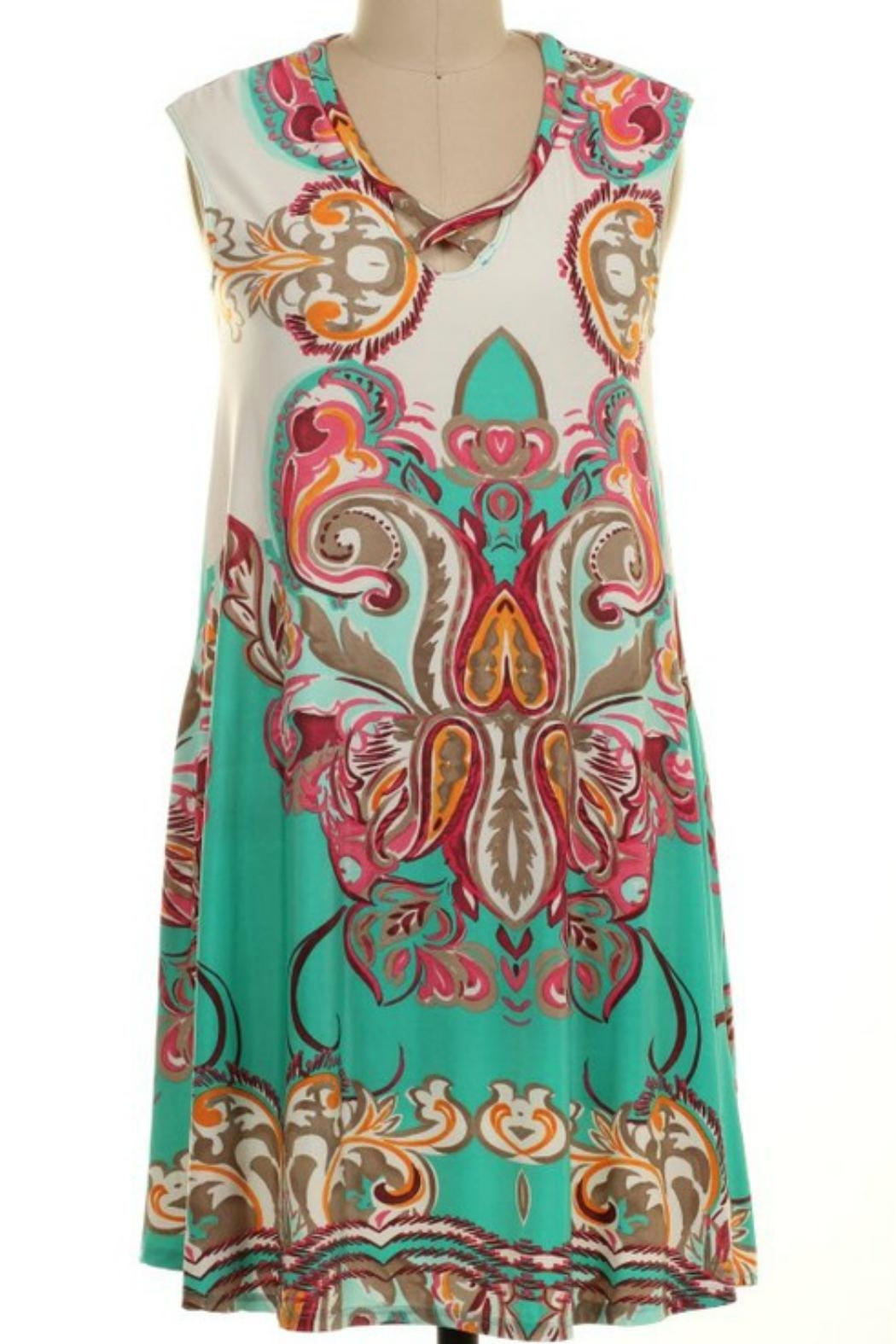 Imagine That Bali Dress - Front Cropped Image
