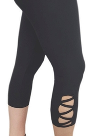 Bali Legging With Cut Out Detail - Product Mini Image