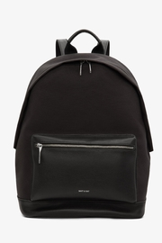 Matt & Nat Bali-Lg Canvas Backpack - Front cropped