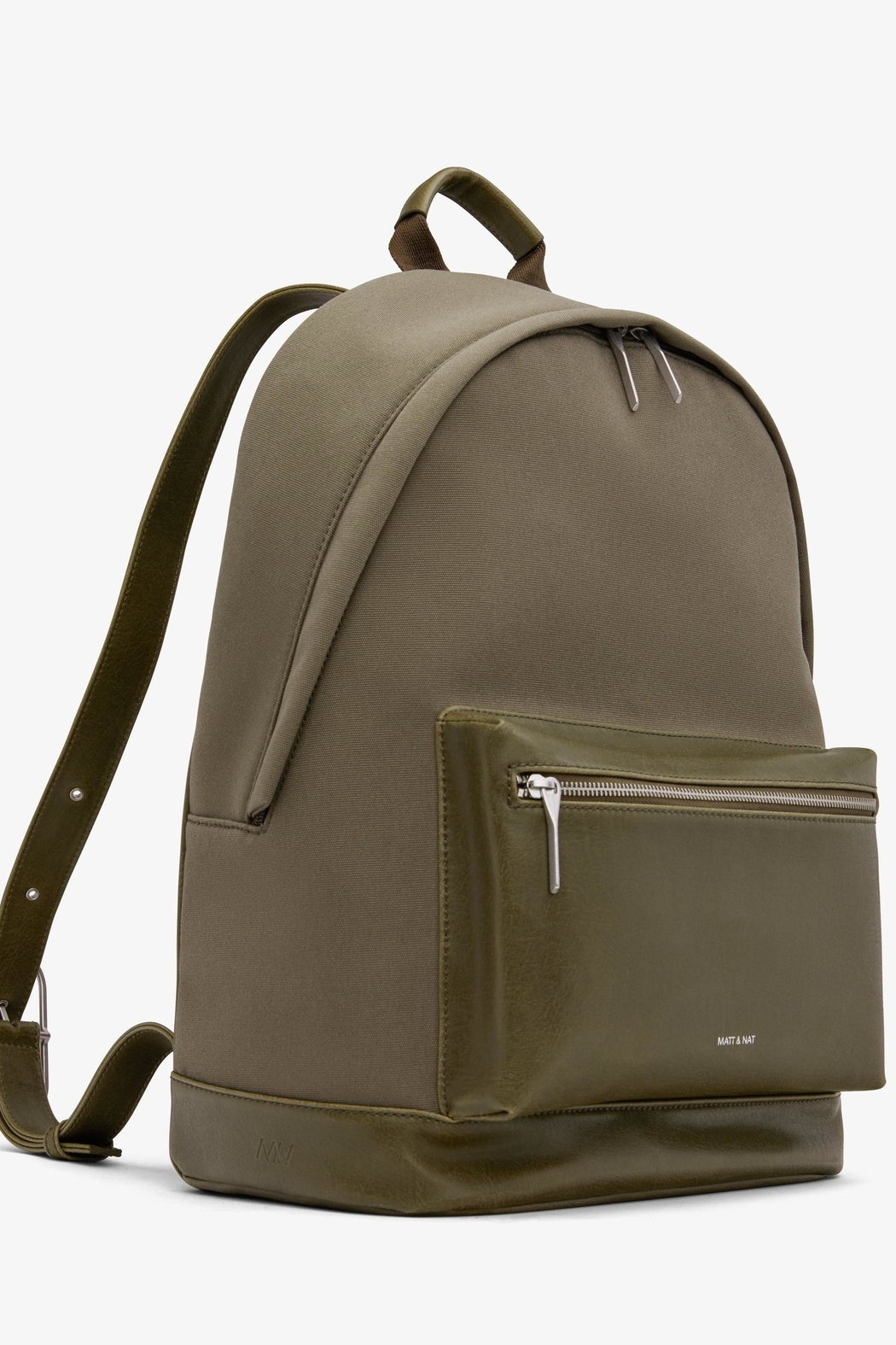 Matt & Nat Bali-Lg Canvas Backpack - Front Full Image