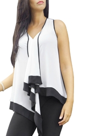 Bali Corp. Pleated Placket Blouse - Product Mini Image