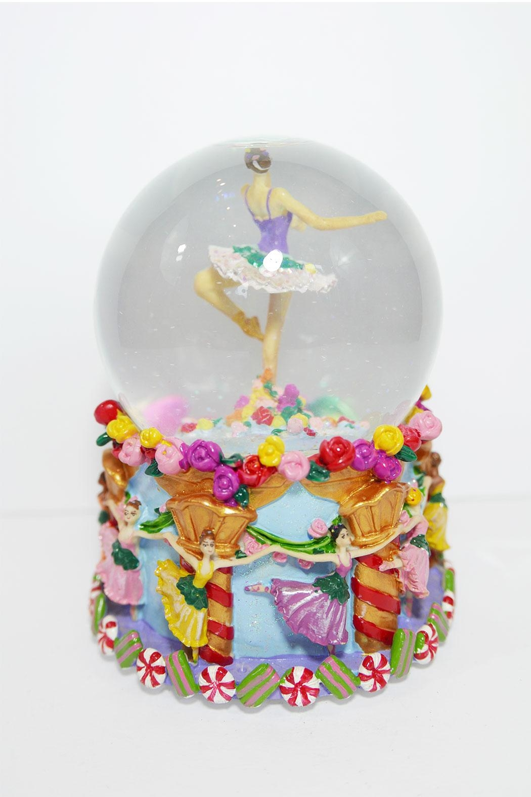 Ball erina Musical Snowglobe - Front Full Image