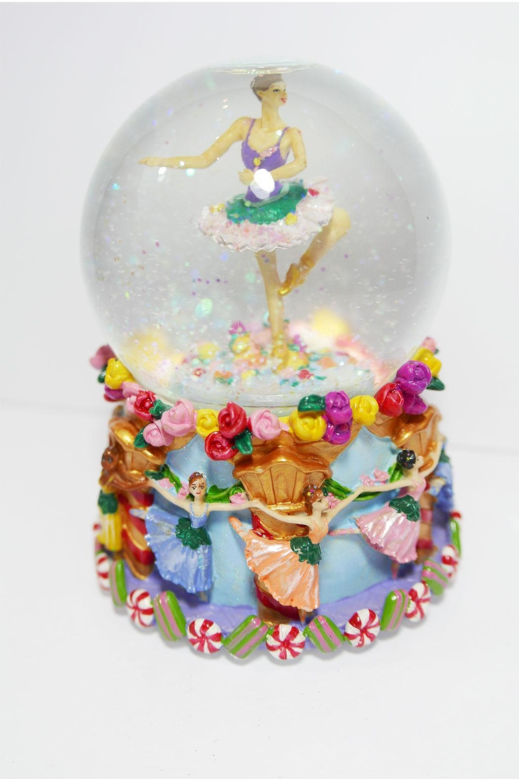 Ball erina Musical Snowglobe - Front Cropped Image