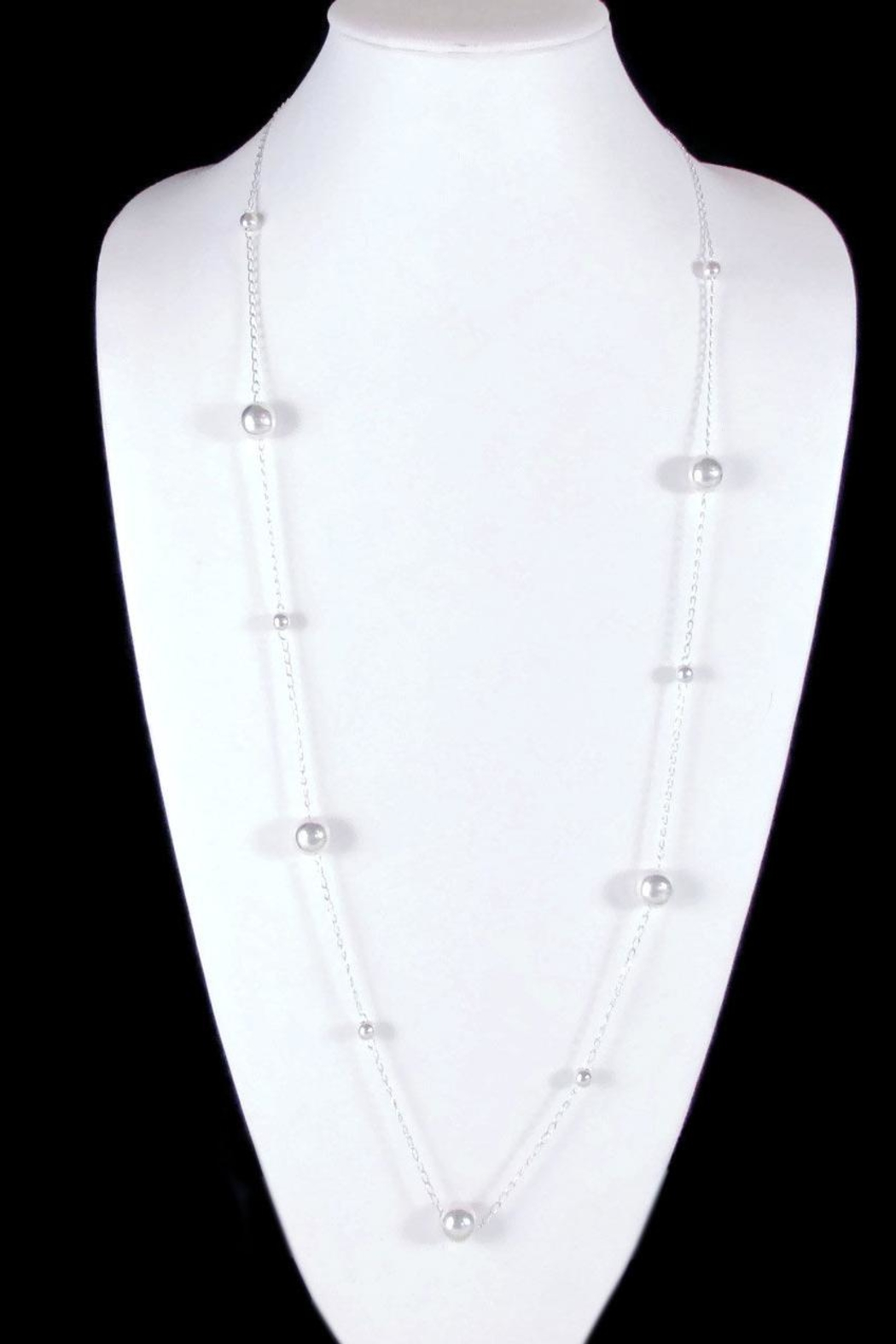 The Nava Family Ball Chain Necklace - Side Cropped Image