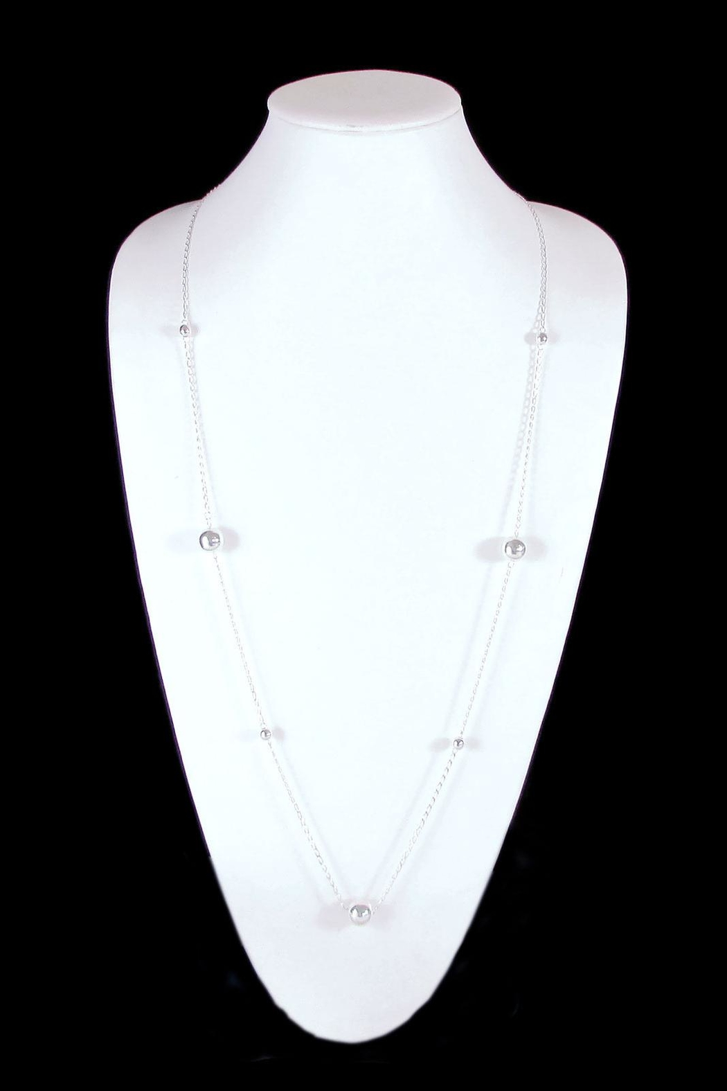 The Nava Family Ball Chain Necklace - Front Full Image