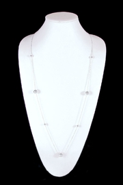 The Nava Family Ball Chain Necklace - Front full body