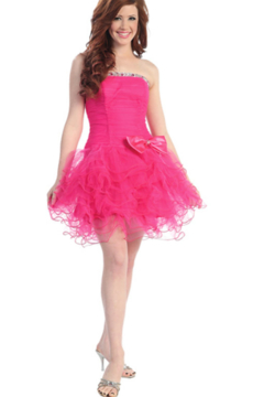 Cindy Collection Ballerina Dress - Product List Image