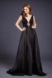 JOVANI FASHIONS BALLERINA IN V GOWN - Product Mini Image