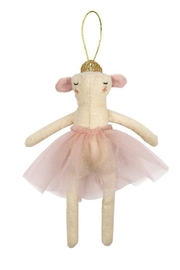 Meri Meri Ballerina Mouse Tree Decoration - Product Mini Image
