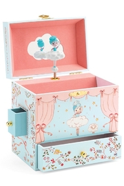 Djeco Ballerina On Stage Musical Jewelry Box - Product Mini Image