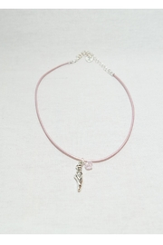 Savvy Designs Ballet Leather Necklace - Product Mini Image