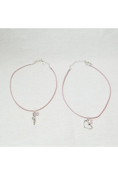 Savvy Designs Ballet Leather Necklace - Alternate List Image